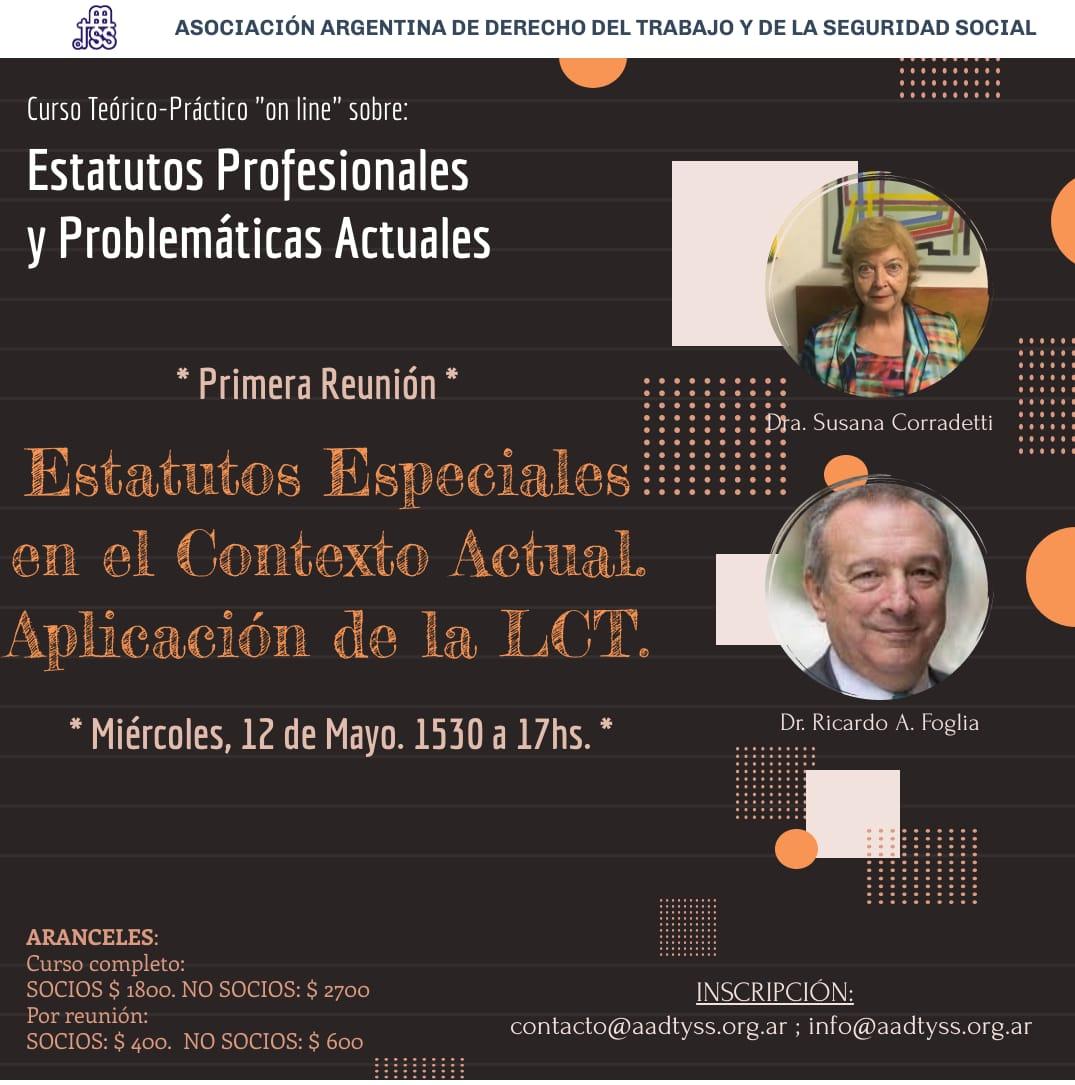 Cuso Online del Dr Ricardo A. Foglia