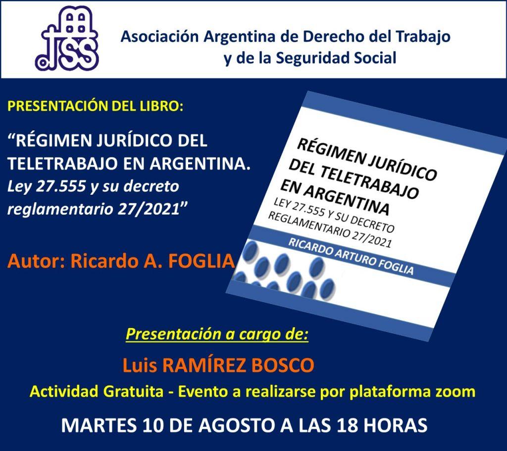 Regimen Juridico del teletrabajo en Argentina